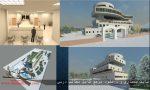 دانلود پروژه طراحی معماری بیمارستان قلب و عروق همراه با رندر های تریدی مکس