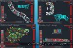 دانلود نقشه کامل اتوکدی طراحی معماری شهرک مسکونی