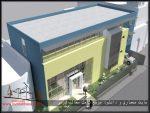 دانلود نقشه کامل طراحی معماری سالن شهری همراه با رندر های ۳max