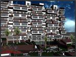 پروژه طراحی کامل مجتمع مسکونی با رویکرد معماری پایدار همراه با رندر ۳max