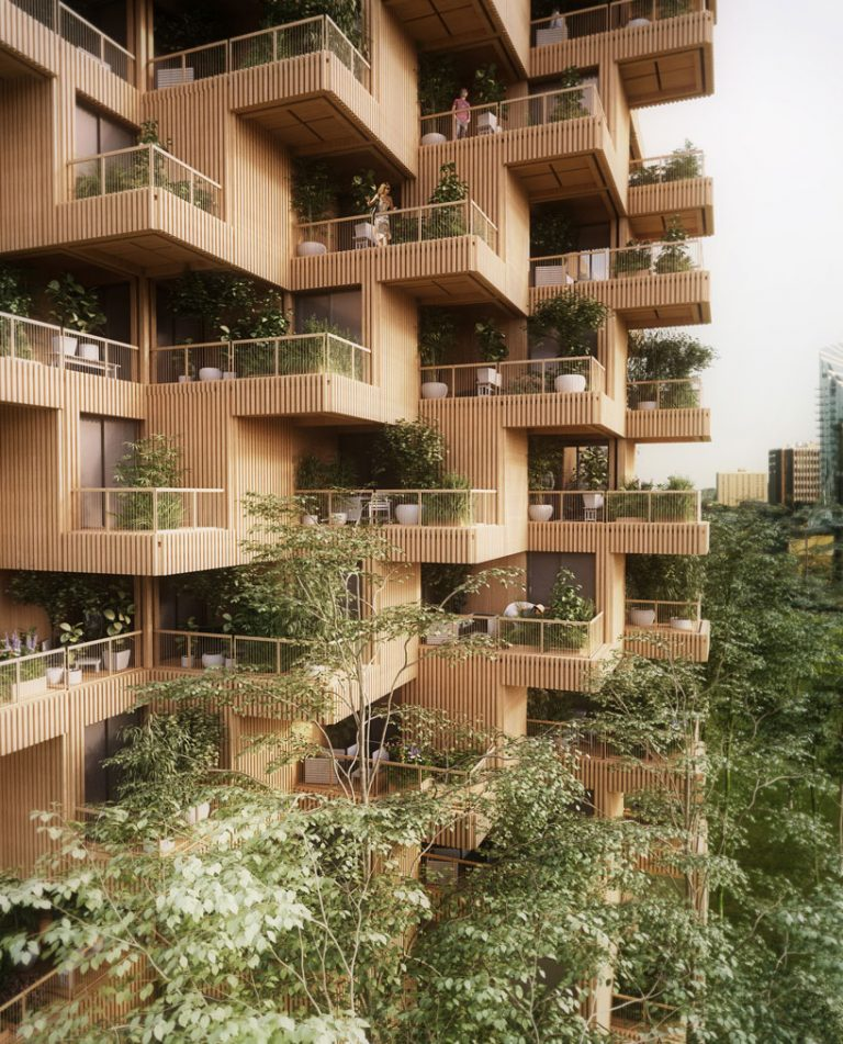 استفاده از گیاهان و درختچه ها در بالکن