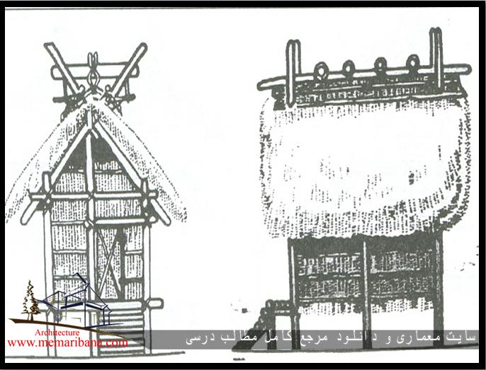 تصویر 120 – نماهای خانه شودن در معابد ژاپنی .