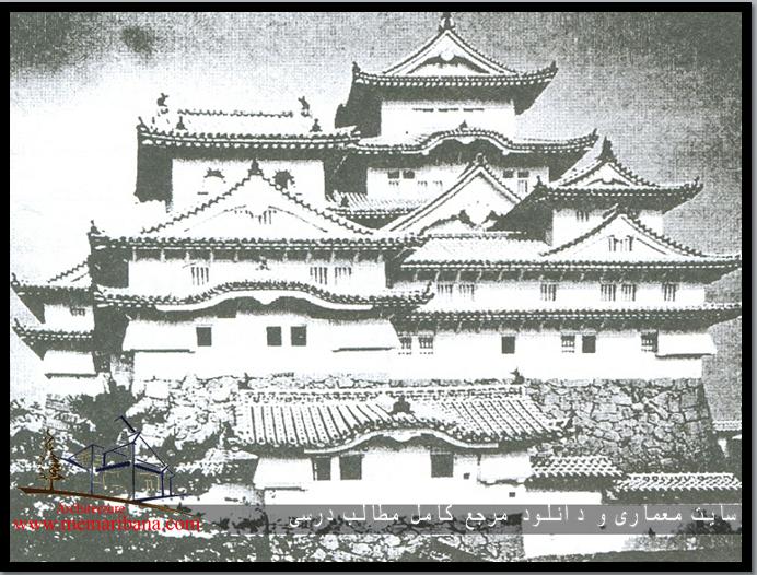 تصویر 124 – نمای قلعه سفید در ژاپن