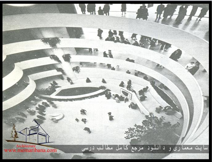 تصویر 107 - داخل موزه گوگنهایم – منظره از زیر گنبد