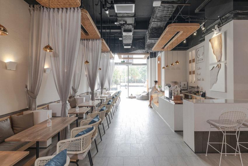 طراحی داخلی فضای قهوه ای زیبا و دلنشین