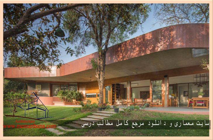 تازه های معماری طراحی خانه وردا با طرح منحنی