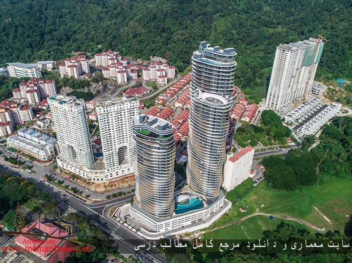جدیدترین برج مسکونی رویایی به سبک معماری فولدینگ در کشور مالزی