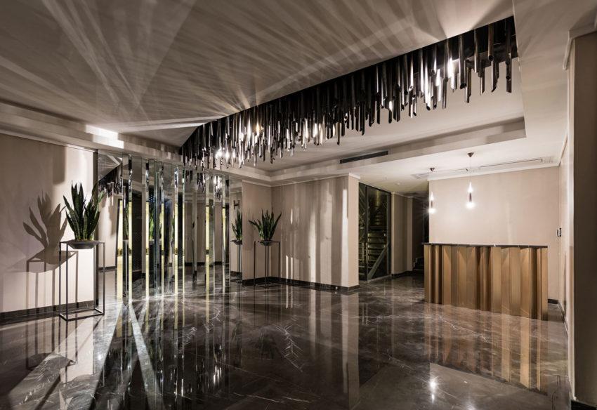 طراحی داخلی مدرن با جزئیات