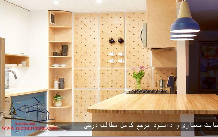 بازسازی آشپزخانه در یک آپارتمان در نیویورک
