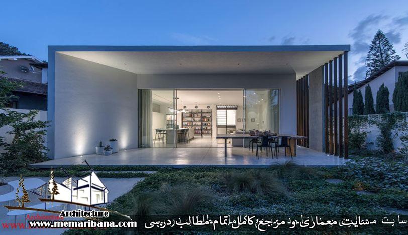 تازه های معماری طراحی خانه مدرن تابستانی