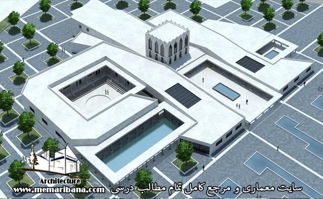 دانلود رساله فرهنگسرای هنر و معماری ایران کامل