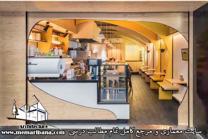 طراحی کافه شاپ به شکل لاک پشت در خیابان ملبورن