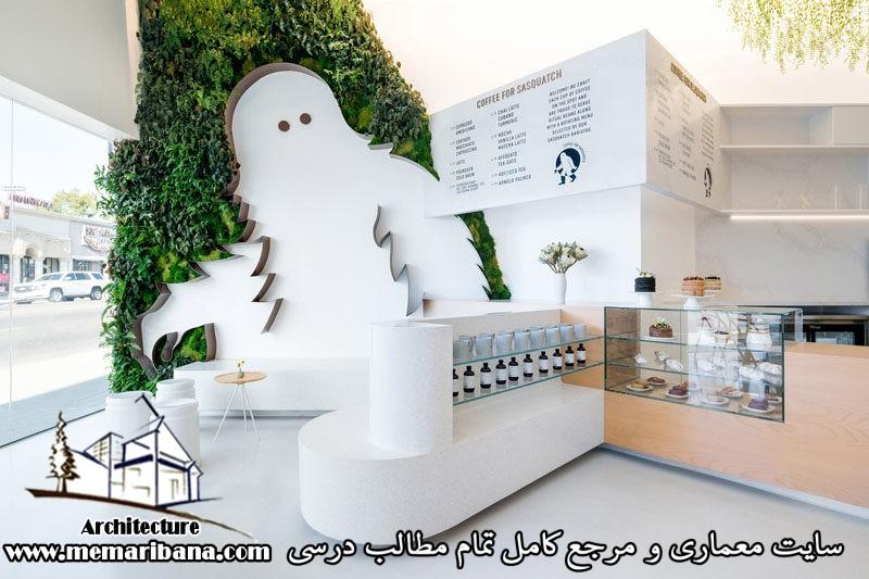 تازه های معماری طراحی یک قهوه خانه در لس آنجلس