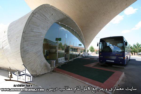 طراحی پایانه های مسافری جاده ای
