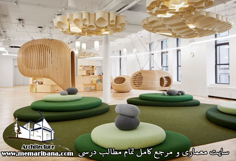 طراحی مدرسه ای مدرن در نیویورک