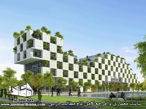 بررسی اصول ومبانی معماری پایدار
