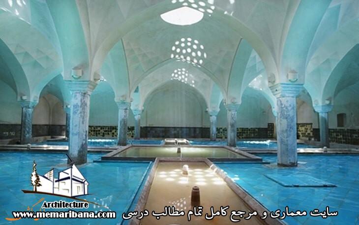 دانلود پاورپوینت معرفی معماری حمام حسن خان