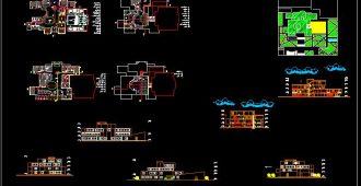 دانلود نقشه کامل دانشکده معماری