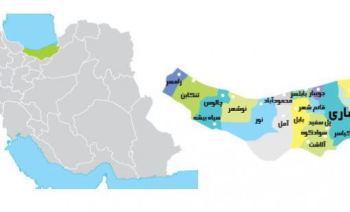معرفی اقلیم شهرستان آلاشت مازندران
