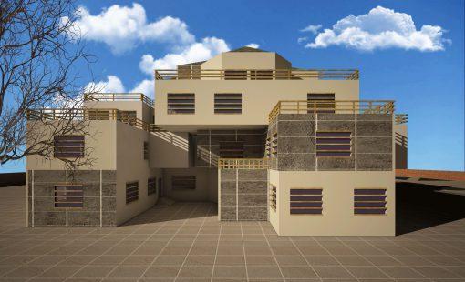 دانلود پروژه طراحی پارک علم و فناوری همراه با رندر تریدی مکس