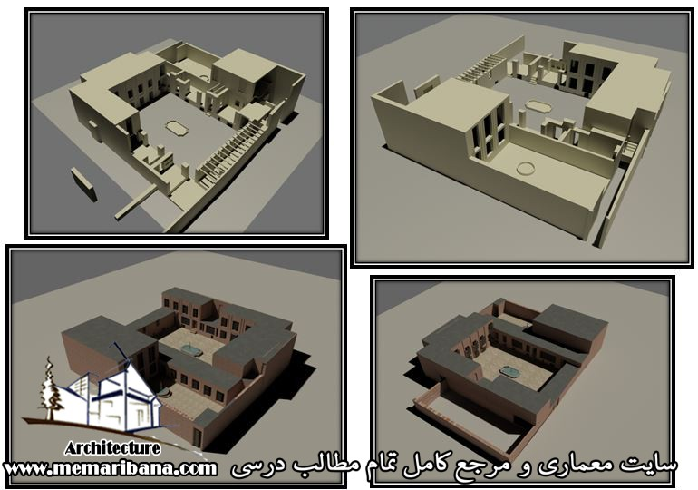 پروژه مرمت ابنیه خانه ممقانیان (صلح جو) در تبریز