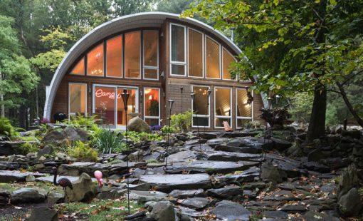 تازه های معماری طراحی کلبه ی فولادی در طبیعتتازه های معماری طراحی کلبه ی فولادی در طبیعت