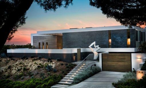 تازه های معماری طراحی خانه ایی در کالیفرنیا با بهره گیری از چشم انداز اطراف