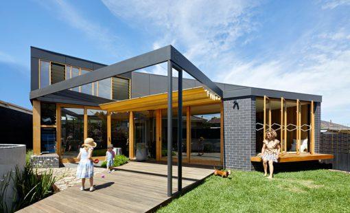 تازه های معماری طراحی فضای اضافه ی جدید برای خانه ایی در استرالیا
