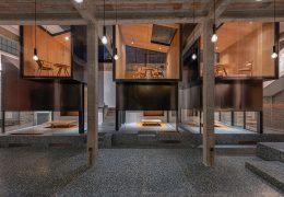 تازه های معماری طراحی یک چایخانه چینی سنتی با الگوی زیبایی شناسی مدرن