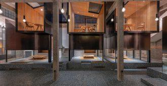 طراحی یک چایخانه چینی سنتی با الگوی زیبایی شناسی مدرن