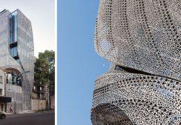تازه های معماری طراحی خانه ایی در مکزیکو سیتی با نمای فولادی کربن