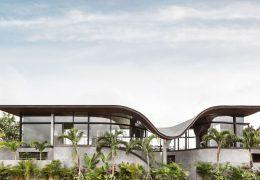 تازه های معماری طراحی خانه ایی مدرن برای موسیقیدان با الهام از موج صوتی