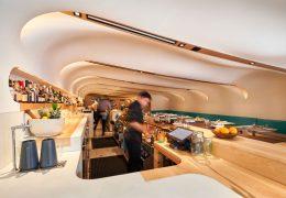 تازه های معماری طراحی رستورانی در تورنتو با الهام از نمایشگاه های بازار مکزیک