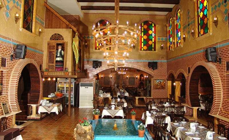 دانلود فایل اتوکدی طراحی رستوران سنتی به صورت رایگان
