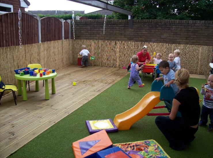 دانلود رساله معماری باغ کودک