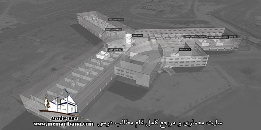 دانلود پلان اتوکدی زندان به صورت رایگان