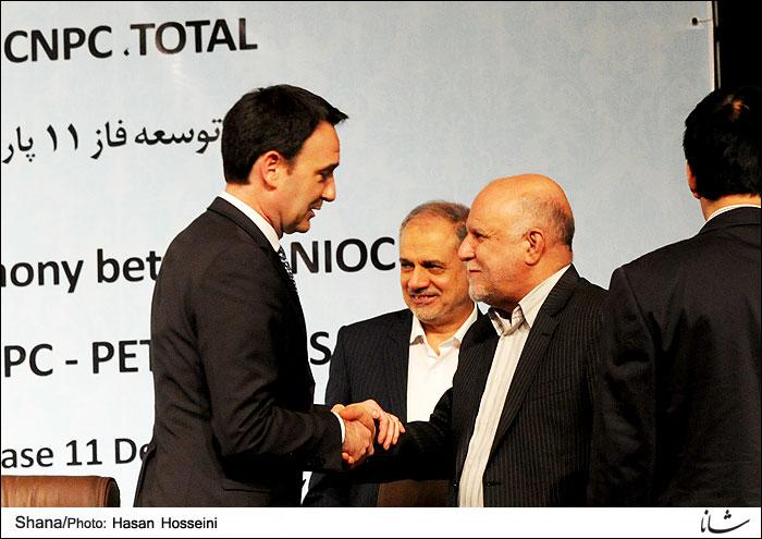 امضای قرارداد ایران و توتال برای پارس جنوبی / بازگشت توتال بعد از برجام