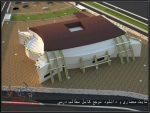 نقشه کامل معماری طراحی ورزشگاه همراه با رندرهای تریدی مکس