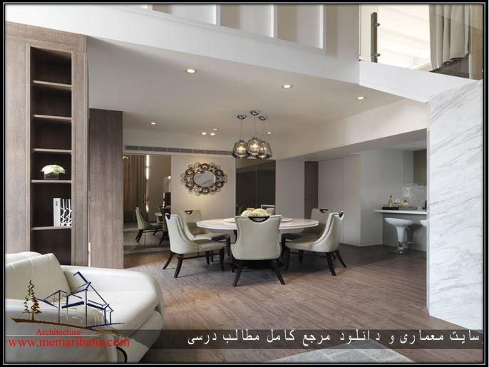 طراحی داخلی آپارتمان زیبا مینیمال طراحی شده توسط شرکت معماری DA CHI