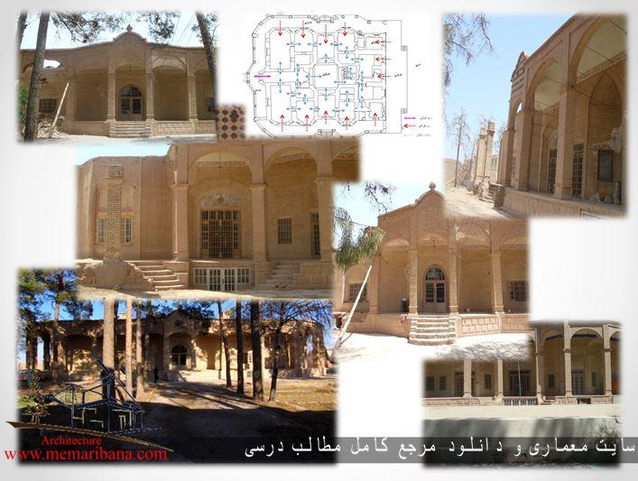 دانلود پروژه مرمت ابنیه خانه باقری شهرستان رفسنجان