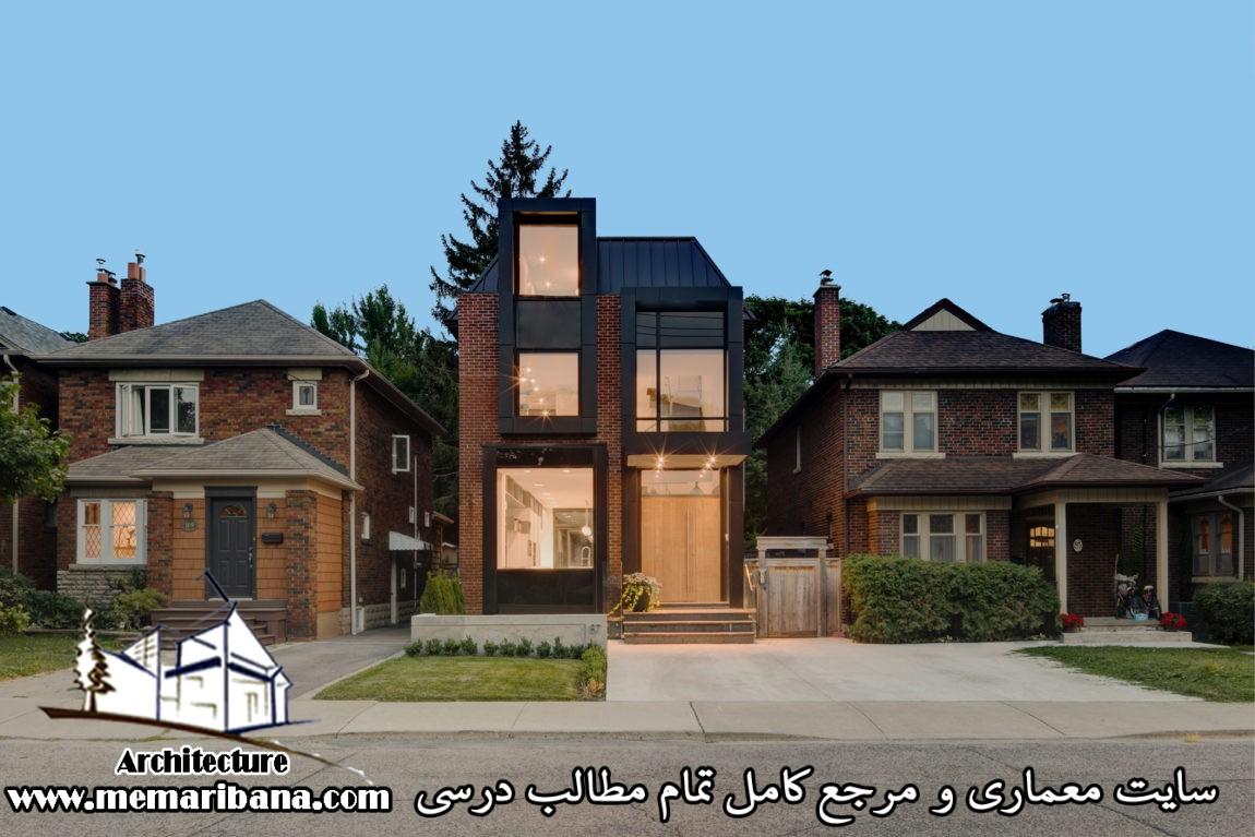 طراحی یک خانه مسکونی برای یک خانواده چهار نفره تحریریه سایت معماری بنا