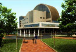دانلود پروژه اتوکدی طراحی هتل چهار ستاره همراه با رندر تریدی مکس