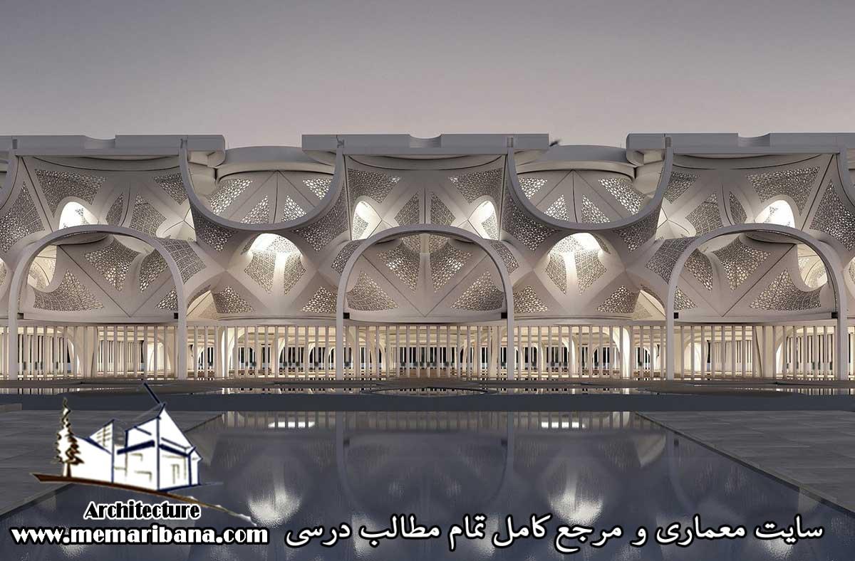 دانلود فایل اتوکدی طراحی مسجد به صورت رایگان