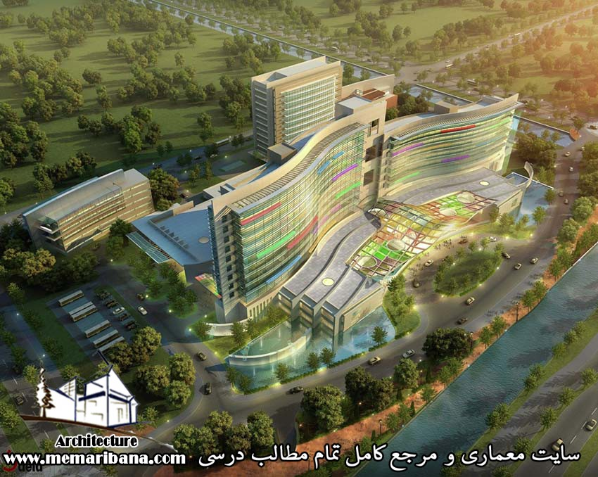 دانلود فایل اتوکدی طراحی بیمارستان به صورت رایگان