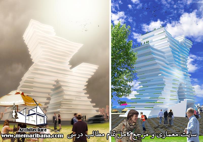 دانلود فایل اتوکدی طراحی هتل همراه با حجم سه بعدی قابل تغییر