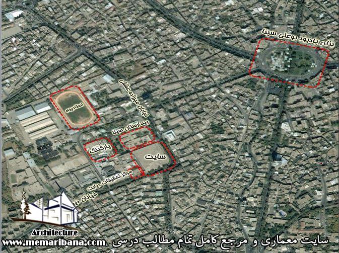 دانلود تحلیل سایت و مشخصات اقلیمی استان همدان