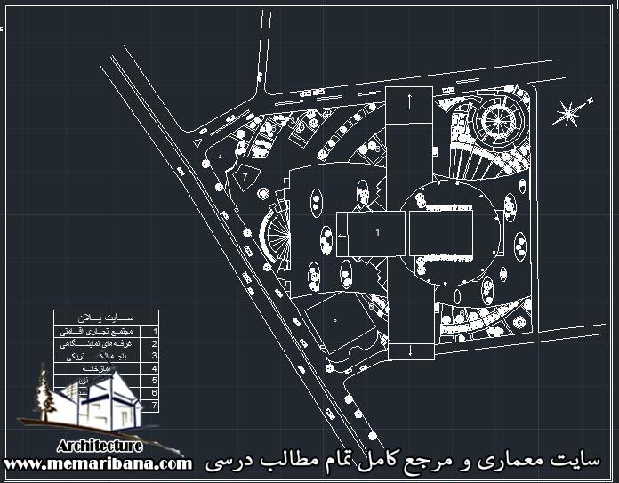 دانلود نقشه اتوکدی طراحی هتل